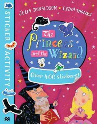 Book cover for The Princess and the Wizard Sticker Book